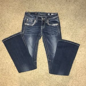 Girls boot cut Miss me Jeans! New! Size 10!✨